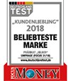 Focus Money Kundenliebling 2018